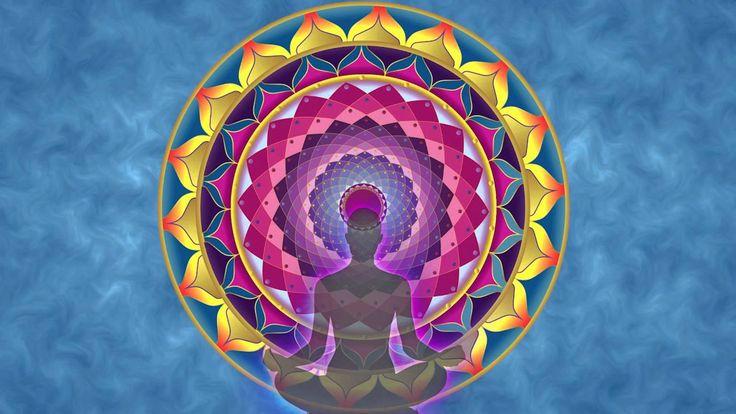 Relaxační a meditační hudba, tibetská čakra meditace.