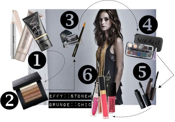 Effy Stonem :: Grunge Chic Makeup Tutorial! (video included!)