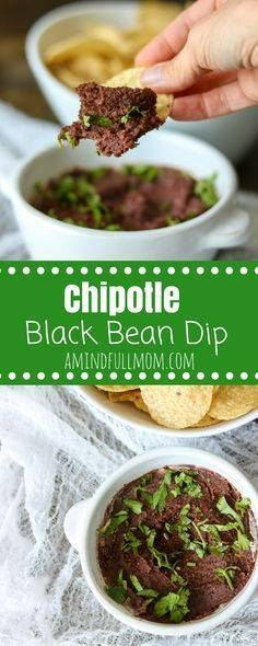 Chipotle Black Bean Chipotle Black Bean Dip: With less than 5 minutes and 5 ingredients you can have a smokey dip that is perfect for dipping just about anything into it. | 5 Ingredient Recipe | Vegan Recipe | Vegan Mexican Dip | Vegan Appetizer | Easy Mexican Bean Dip | Easy Appetizer Recipe | Dairy-Free Mexican Dip | Recipe : http://ift.tt/1hGiZgA And @ItsNutella  http://ift.tt/2v8iUYW  Chipotle Black Bean Chipotle Black Bean Dip: With less than 5...