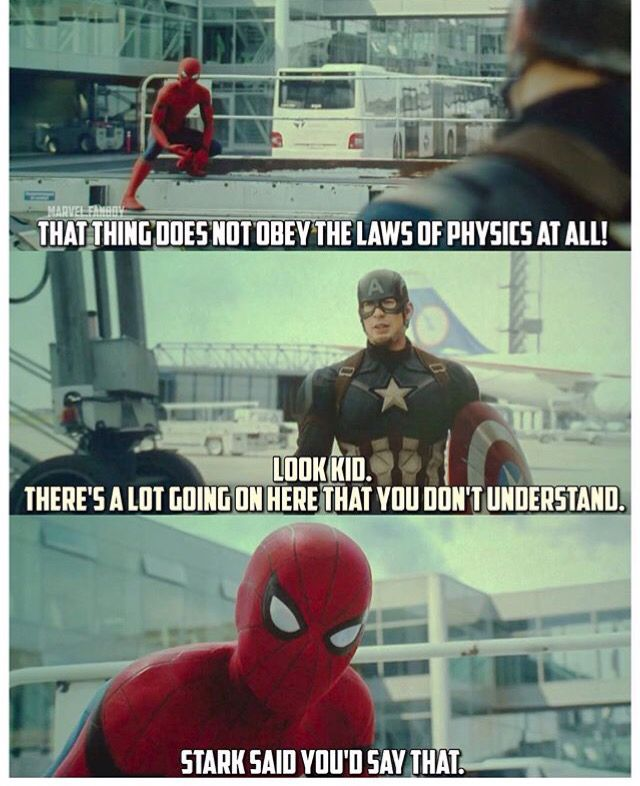 Spider-Man was ABSOLUTELY being manipulated by Iron Man. Whether he meant it or not, this is very common, people go with the side of the argument they hear first.