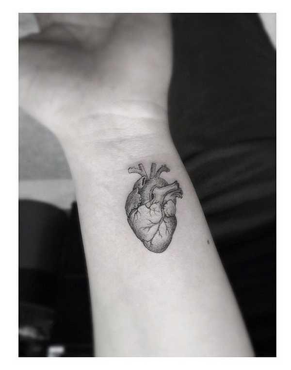 best 25 small heart tattoos ideas on pinterest heart. Black Bedroom Furniture Sets. Home Design Ideas