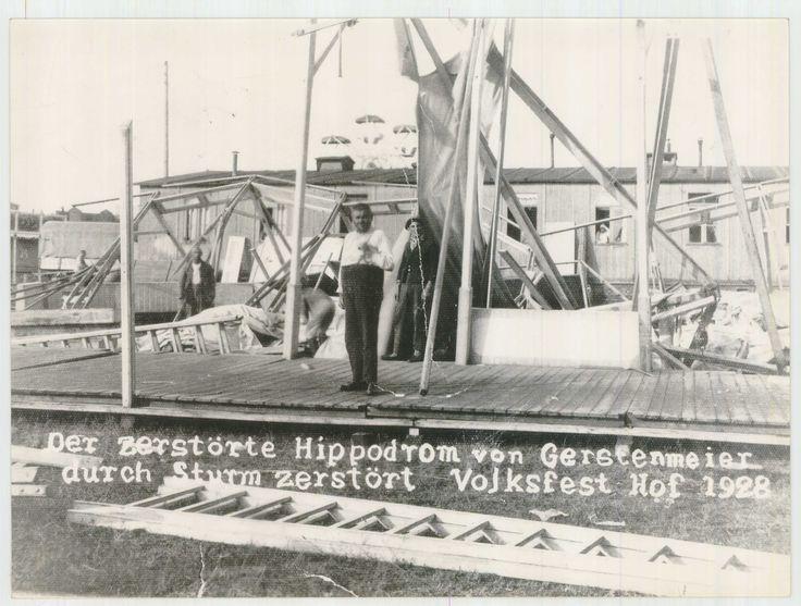 zerstörtes Hippodrom