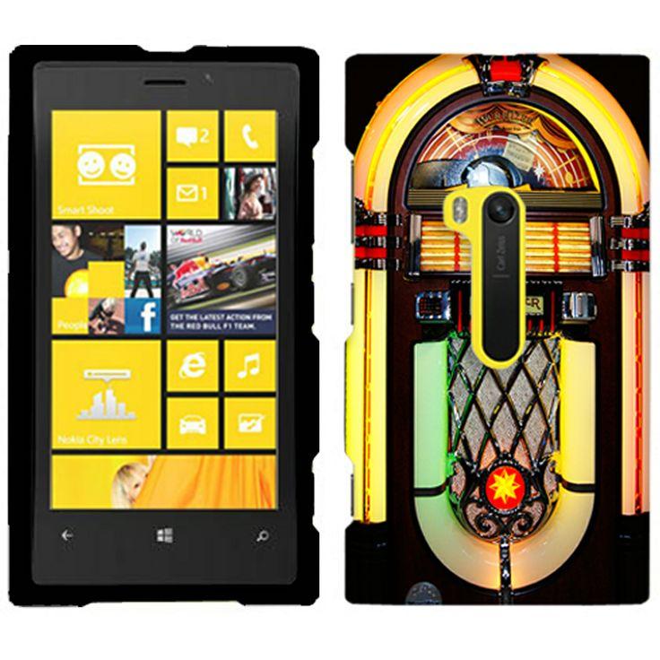 Nokia Lumia 920 Jukebox on Black Phone Case Cover 8.90