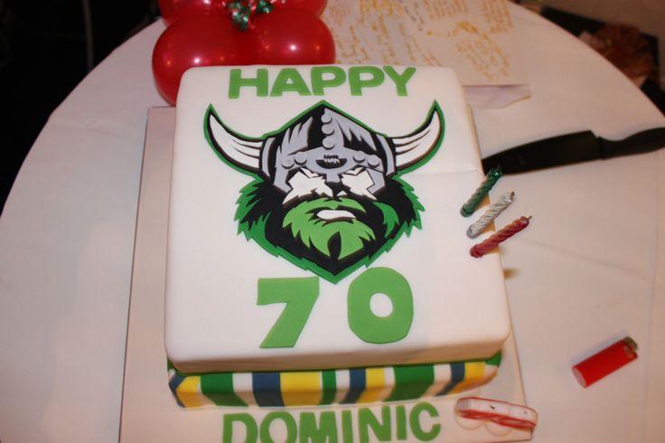 Canberra Raiders Birthday Cake