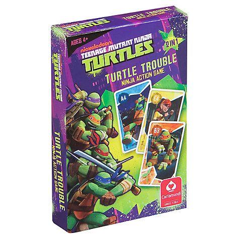 Buy Teenage Mutant Ninja Turtles Turtle Trouble Card Game Online at johnlewis.com