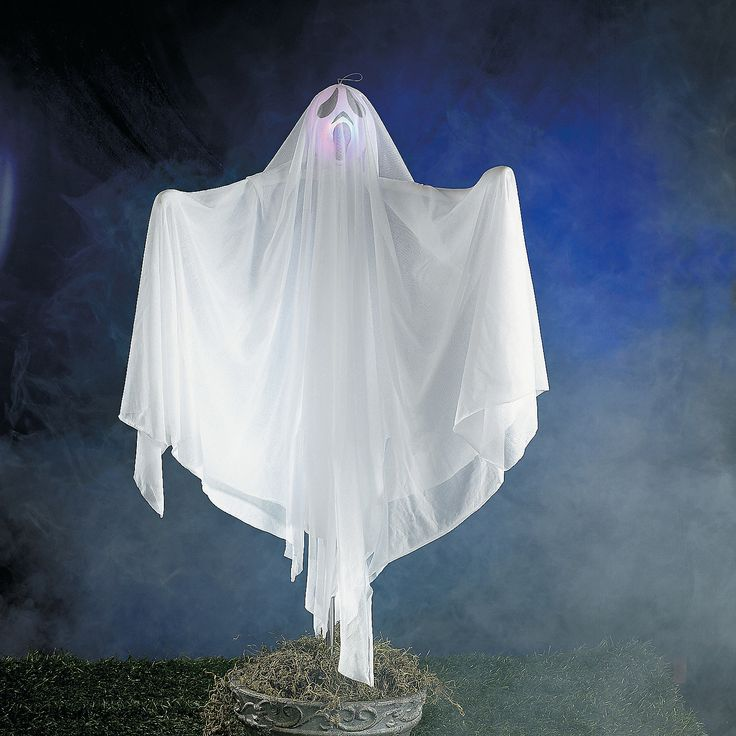 ghost yard stake with led light outdoor decorationsholiday decorationschristmas decorhalloween