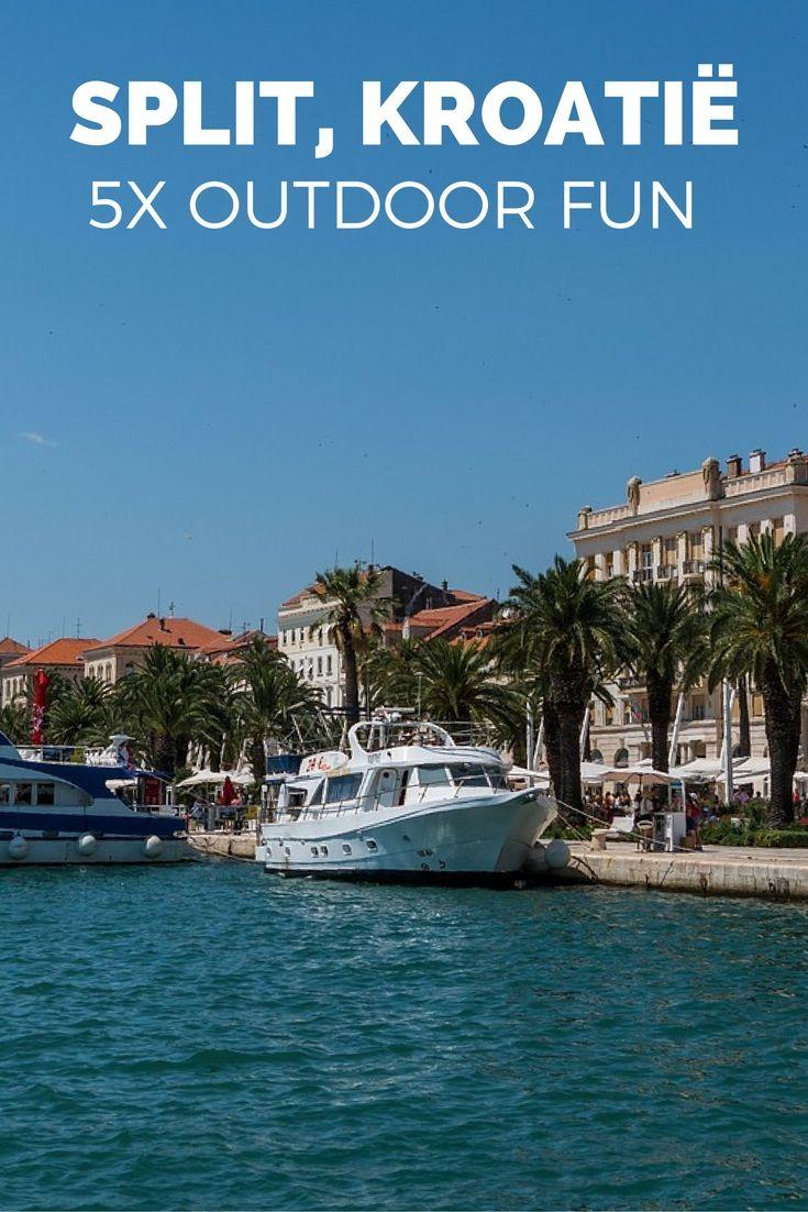 Houd je van outdoor? Dan is een stedentrip Split (Kroatië) echt perfect. Je kunt er varen, fietsen, wandelen en aan het strand liggen. Bekijk al mijn outdoor tips voor Split.