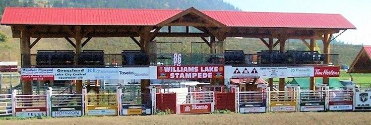 Williams Lake Stampede. Rodeo in Williams Lake, BC, Canada
