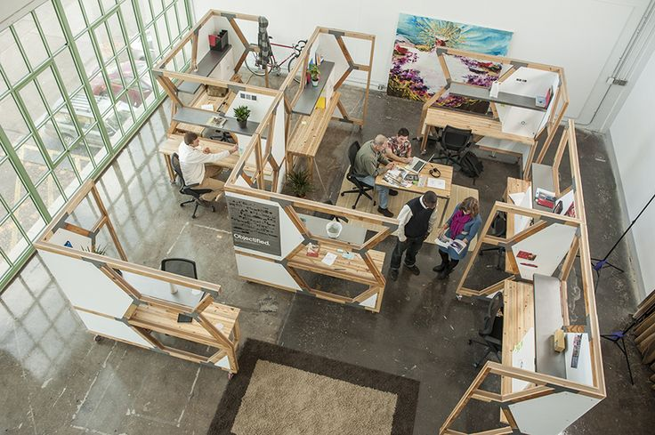 HIVE can be arranged in many configurations based on individual work style and team environment (photo: r. muller)