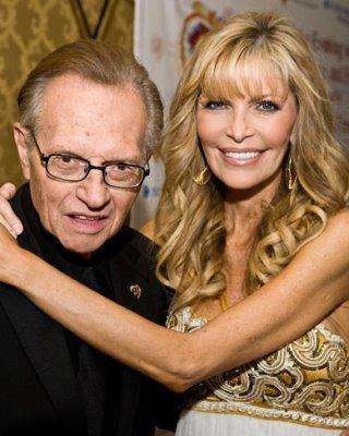 Larry King was raised Jewish, and his wife, Shawn King, was raised Mormon.