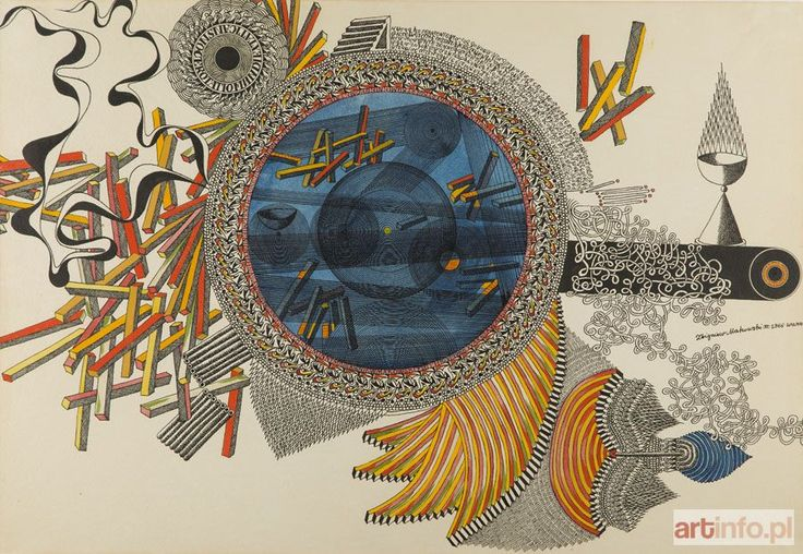 Zbigniew MAKOWSKI ● Kompozycja, 1966 r. ●