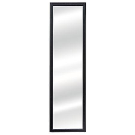 Living & Co Mirror Over Door Black 30cm x 120cm
