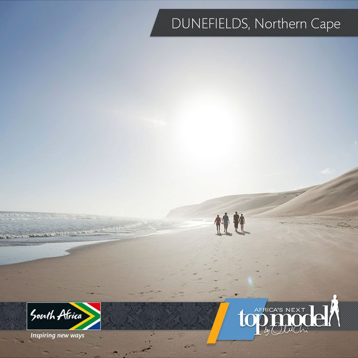 There's nothing cooler than a sea breeze to help restore your body after a fun weekend with friends. We love this beach in Dunesfield in the Northern Cape, South Africa. #MeetSouthAfrica See more stunning views here: southafrica.net