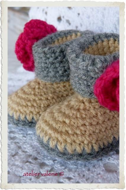 Baby Chick Booties Knitting Pattern : 17 beste afbeeldingen over baby op Pinterest - Kind wanten ...