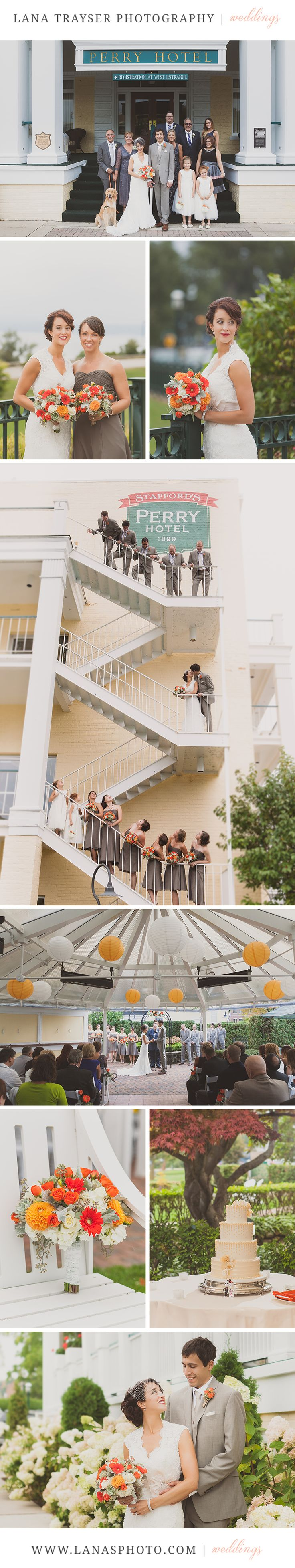 Bridal Party | Petoskey wedding |Perry Hotel | Lana Trayser Photography | Michigan wedding photography
