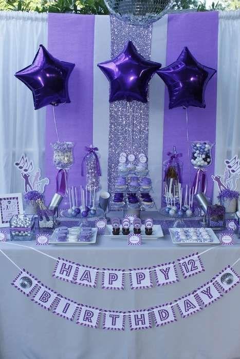 Best 25 Purple Birthday Parties Ideas On Pinterest