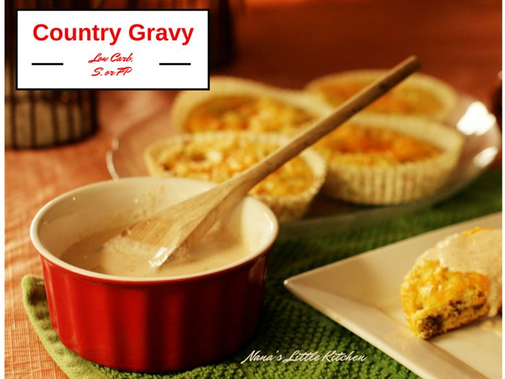 One of the things I've worked on since I started converting recipes for my diet is a really good, authentic tasting, cream gravy. I posted a good one last year in my old blog (here) which I still ...
