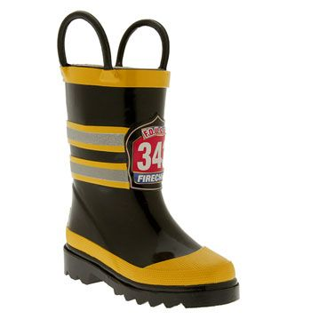 Western Chief 'Fireman' Rain Boot (Walker, Toddler, Little Kid & Big Kid) available at #Nordstrom