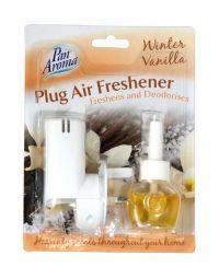 PAN AROMA PLUG AIR FRESHENER WINTER VANILLA