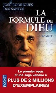Un livre que vous ne pouvez pas refermer avant de l'avoir fini et même après l'avoir fini il ne nous quitte pas...  La formule de Dieu, Jose Rodrigues dos Santos