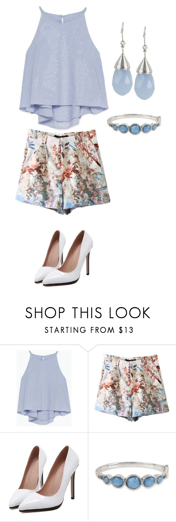 """""""Jane The Virgin inspired"""" by purplexskies ❤ liked on Polyvore featuring Zara, Kenneth Cole and INC International Concepts"""