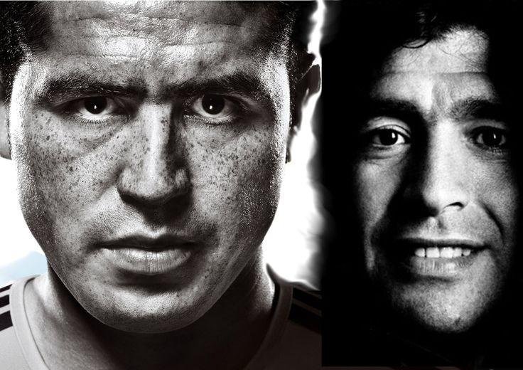 @Riquelme and @Maradona #9ine
