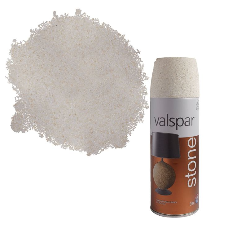 Valspar Alabaster Stone Effect Matt Spray Paint 400ml   Departments   DIY at B&Q