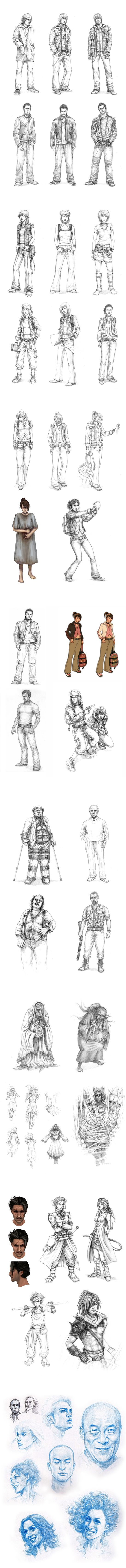 Concepts and Sketches by Yuen Sin Ng