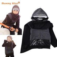Star Wars Fiúk Lányok Ruházat Karakter Kids Lányok Jacket, kabátok Alkalmi fekete baba fiú Star Wars jelmezek Gyermek ruházat (Kína (szárazföld))
