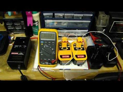 Part1 - How to revive / rejuvenate / fix a bad rechargeable NiCd battery for cordless drill - YouTube