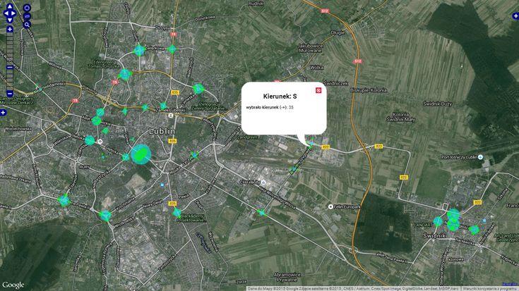 Społeczne pomiary ruchu rowerowego w Lublinie z 2015 roku