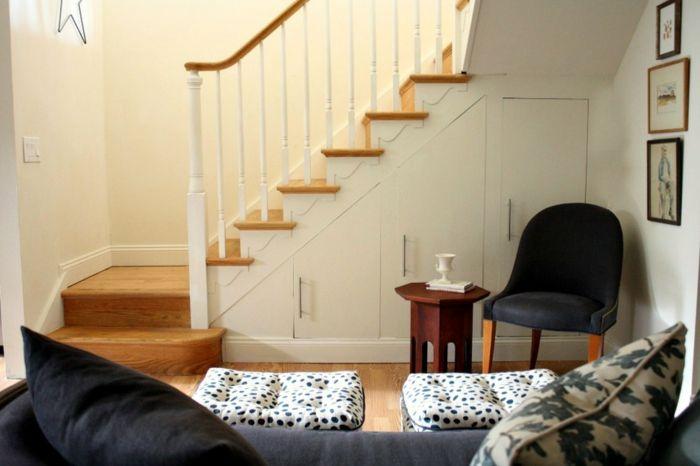 13 best escalier images on Pinterest Stairs, Mezzanine and Railings - porte de placard sous escalier