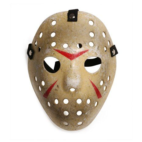 Friday The 13th Costume Prop Hockey Mask Jason Horror Mask for Kids