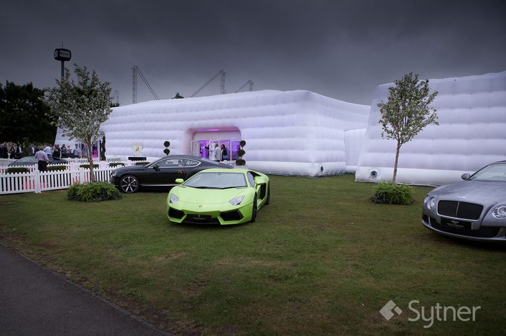 Incredible Marquee where the Event was Held