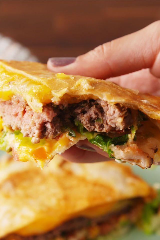 Best 25+ Quesadilla burgers ideas on Pinterest | Flamin ...