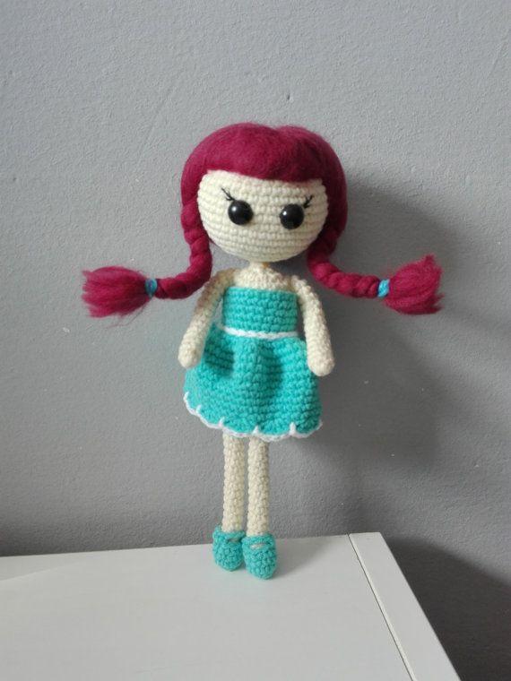 Crochet doll Pipi by kaizerka on Etsy