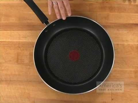 Equipment Review: Best Nonstick Skillets. Good Review. Bought the recommended T-Fal pan; works like a charm
