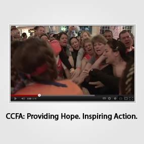 """CCFA's Team Challenge video voted one of the best """"Best Crohn's Videos of YouTube"""" in 2012, and we are THRILLED! What is your best memory of 2012?"""