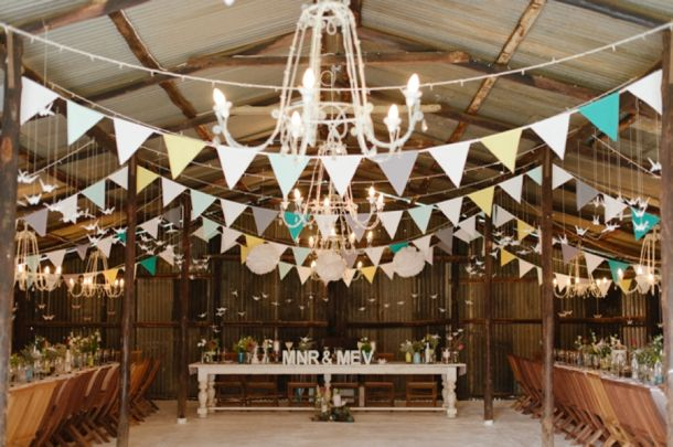 Pastel Protea South African Wedding by Yolande Marx