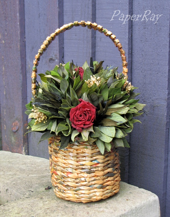 Woven Basket Pinterest : Images about paper wicker on basket