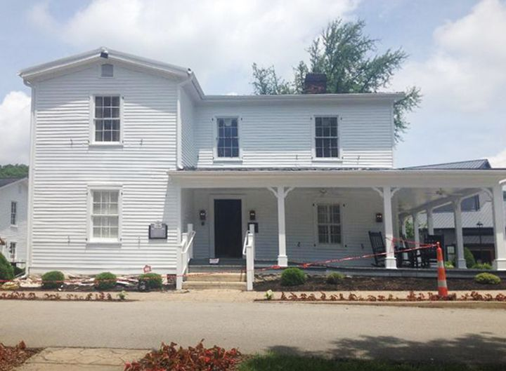 The Team At Howell U0026 Howell Contracting In KY Are Renovating This 1911  Historical Home That · Trim BoardBoarding HouseJim BeamExterior ...