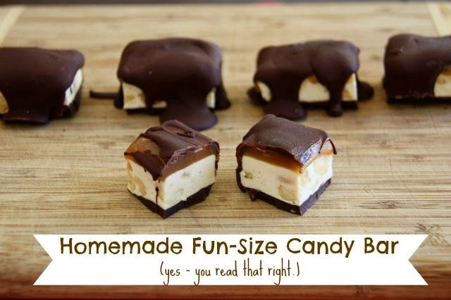 Five Little Homesteaders: Homemade Fun-Size Candy Bars
