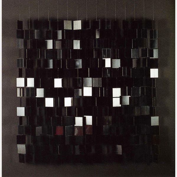 2014 - Art Basel - Julio Le Parc: Mobile noir sur noir