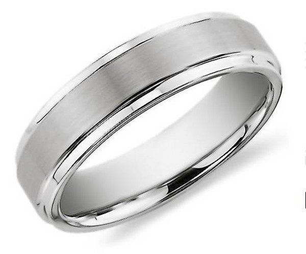 men engagement ring hand - Mens Silver Wedding Rings