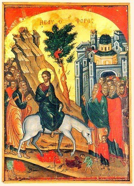Παναγία Ιεροσολυμίτισσα: Ομιλία του Αγίου Γρηγορίου του Παλαμά εις την Κυρι...
