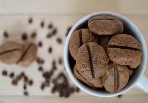 Vánoční kávová zrna