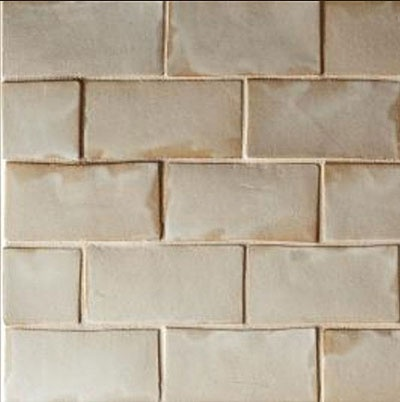 2x4 Ceramic Subway Tile In Creme Brulee Available In 1