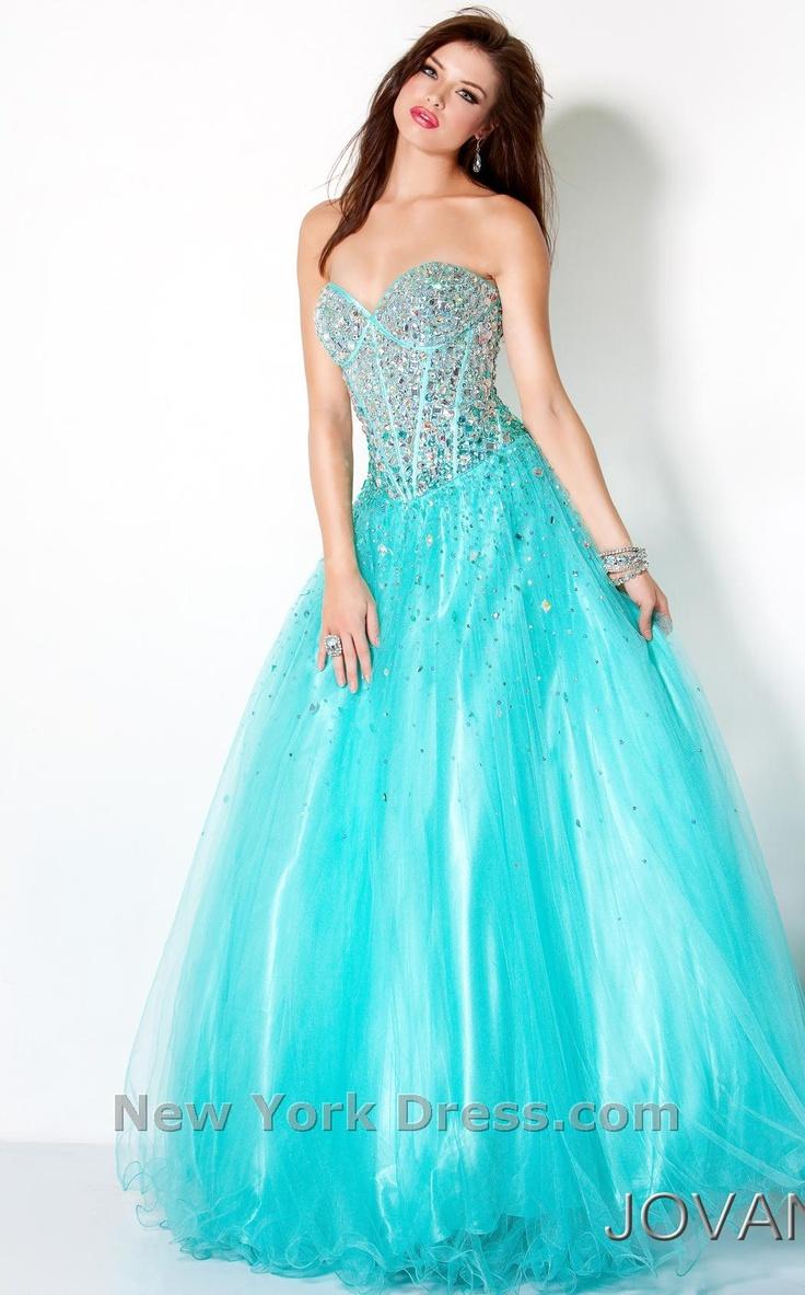 193 best Blue prom dress images on Pinterest | Grad dresses, Party ...