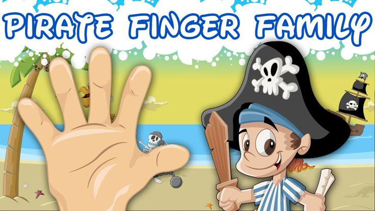The Finger Family Song | Pirate Finger Family | Nursery Rhymes for Child...