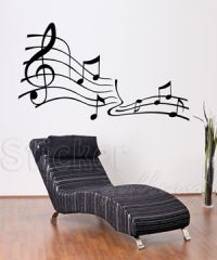 Wall decal for the music room!